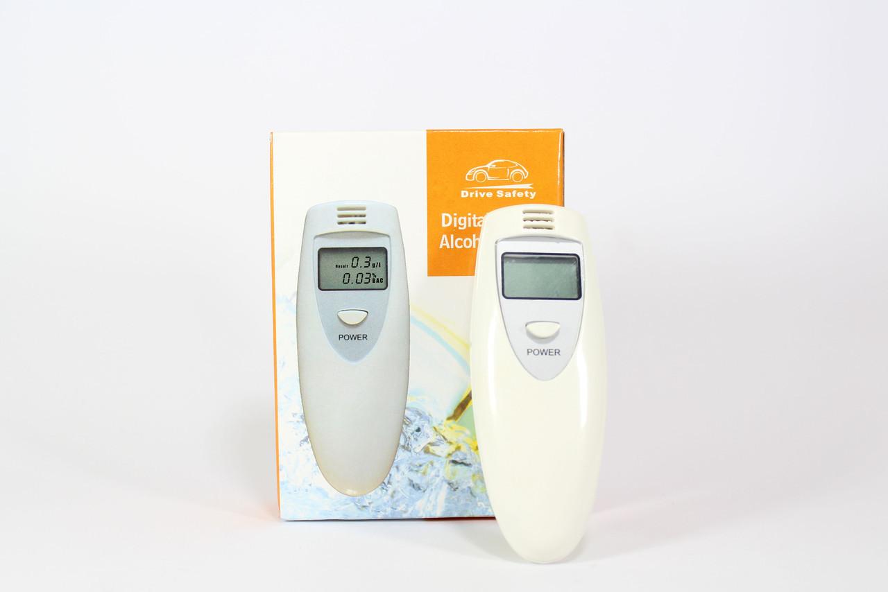 Цифровой алкотестер с LCD дисплеем ALCOHOL TESTER / Электронный алкотестер
