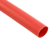 Трубка термоусадочная красная 5мм (100м/уп) рулон