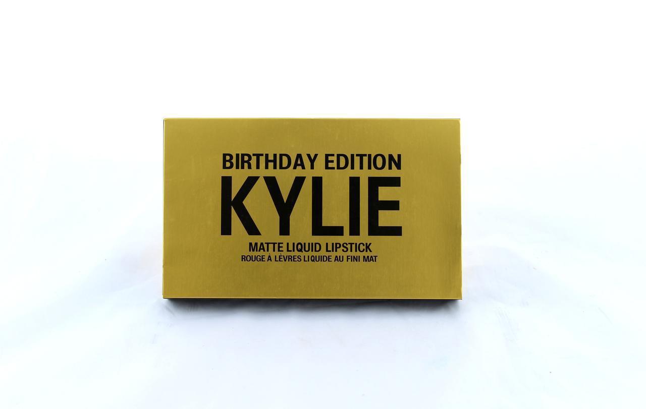 Помада Kylie 8607 gold