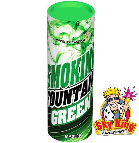 Цветной дым SMOKING зеленый 1 шт. MA0509