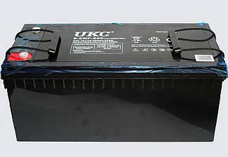 Акумулятор BATTERY GEL 12V 200A UKC