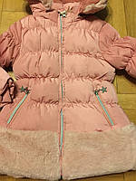 Куртки на меху для девочек оптом, F&D, 3/4-7/8 лет, арт. L-103, фото 4
