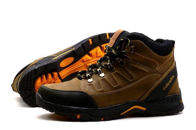 Купить Зимние кожаные мужские ботинки Columbia NS olive, реплика в ... 879221dbb9c