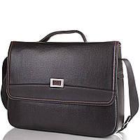 Мужской портфель из качественного кожезаменителя  BONIS (БОНИС) SHIXL8169-black