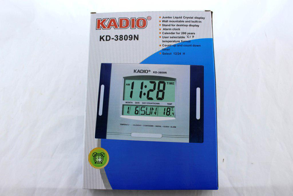 Часы KK 3809 N, Часы цифровые, Многофункциональные часы для авто и дома, Электронные часы