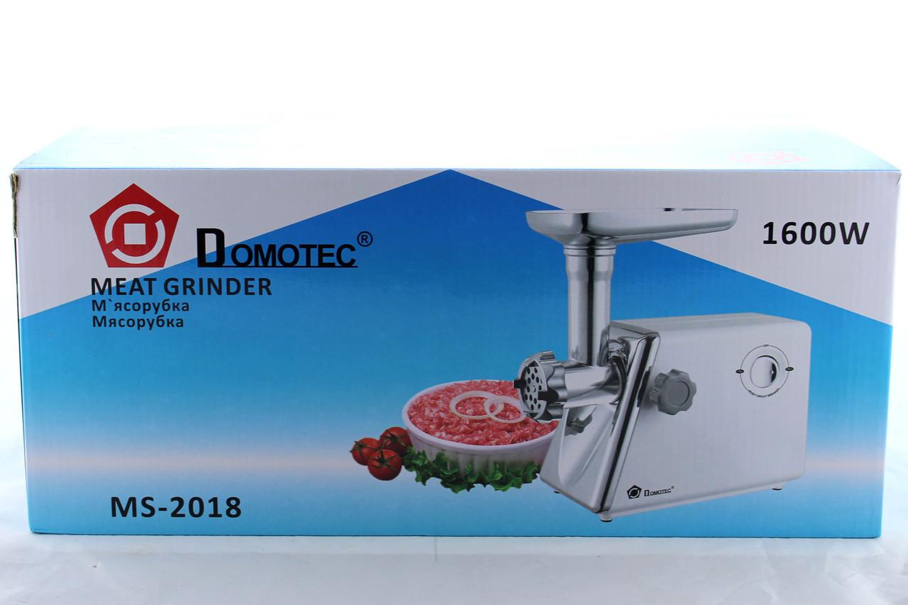 Мясорубка электрическая DOMOTEC MS 2018 \1600W