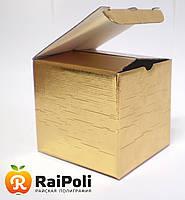 Золотая упаковка для чашки