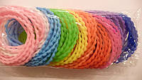 Резинка браслет, каучук, волна, цена за уп., в уп. 100шт., в пак. 15*11см