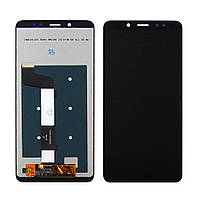 Дисплей для XIAOMI Redmi Note 5/Note 5 Pro с чёрным тачскрином (ID:15236)