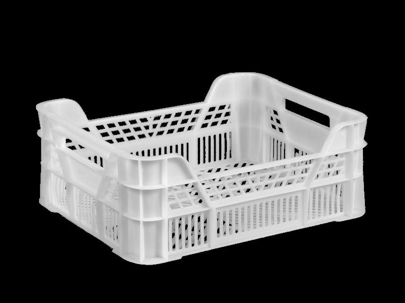Пластиковый ящик 400х300х155/110 мм