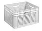 Пластиковый ящик со сплошным дном 433х347х283 мм, фото 2