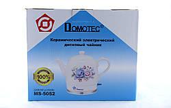 Чайник Domotec MS 5052 керамический / электрочайник / 1,5L