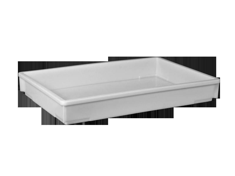 Пластиковый ящик полиэтиленовый 600х400х80 мм