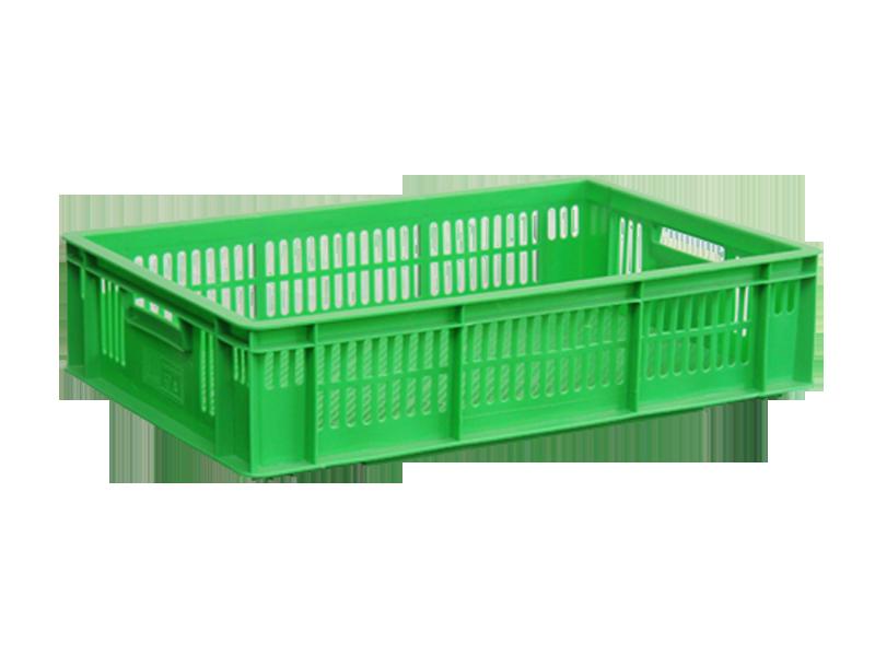 Пластиковый ящик перфорированный 600х400х140 мм