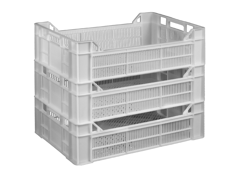 Пластиковый ящик 600х400х170/130 мм