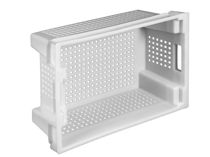 Пластиковый ящик конусный 600х400х200 мм