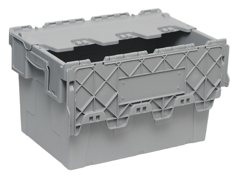 Пластиковый ящик с крышкой 600х400х365 мм