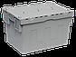 Пластиковый ящик с крышкой 600х400х365 мм, фото 2
