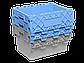 Пластиковый ящик с крышкой 600х400х365 мм, фото 3