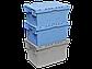 Пластиковый ящик с крышкой 600х400х365 мм, фото 4