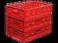 Пластиковый ящик F6416-3040, складной, фото 2