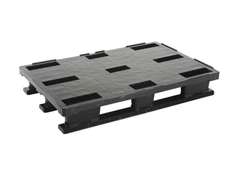 Паллета пластиковая облегченная SF800L2/P на полозьях