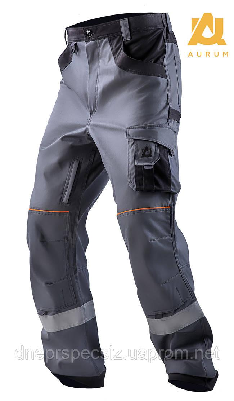 Брюки рабочие AURUM из 100% хлопка, многофункциональные брюки.