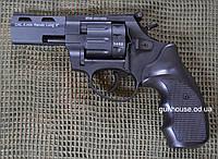 "Револьвер под патрон Флобера STREAMER R2 3"" matte black (черный пластик)"
