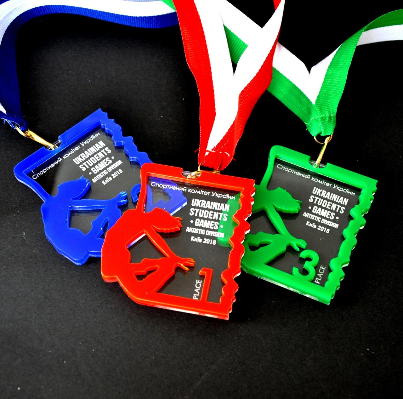 Медаль из оргстекла
