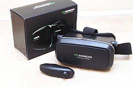 VR Box 1991 Очки виртуальной реальности с пультом(черный)