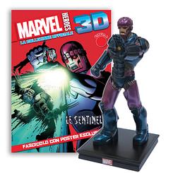 Мініатюрна фігура Герої Marvel 3D Спецвипуск №3 Страж (Сentauria) масштаб 1:16