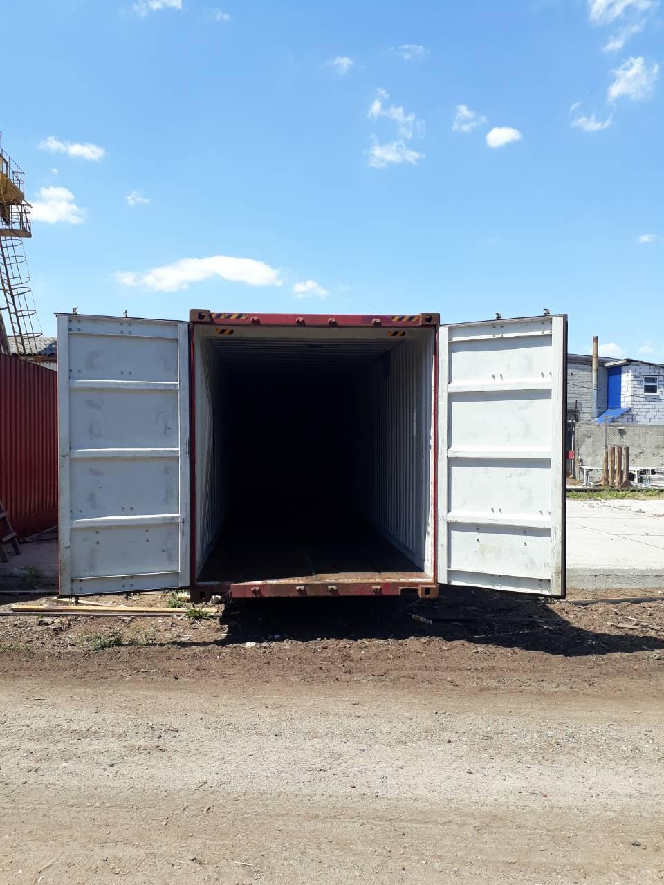 45-футовый морской контейнер - фото 2