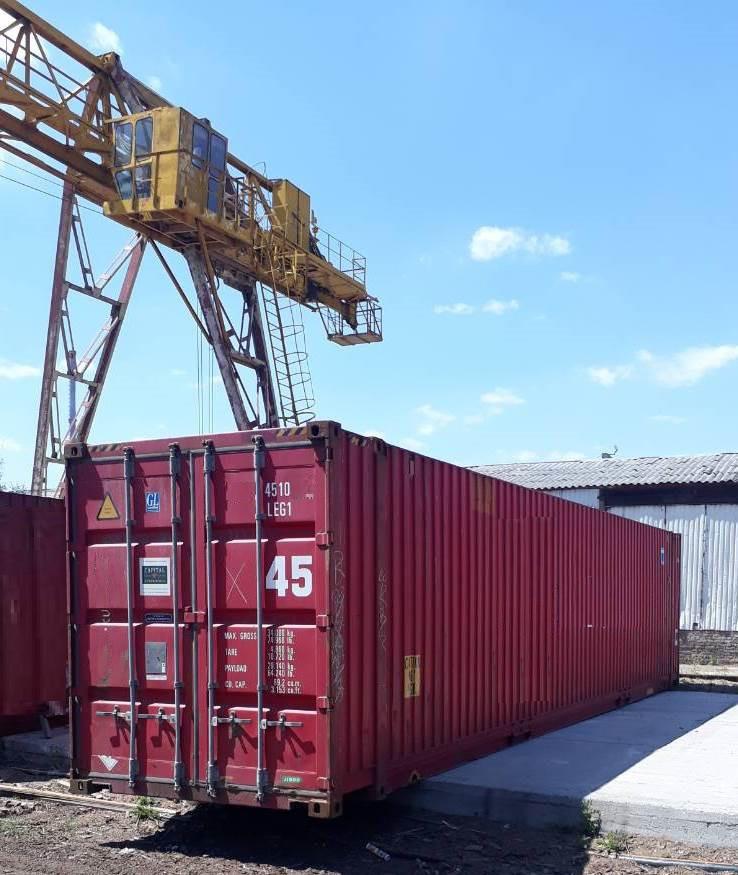 45-футовый морской контейнер - фото 1