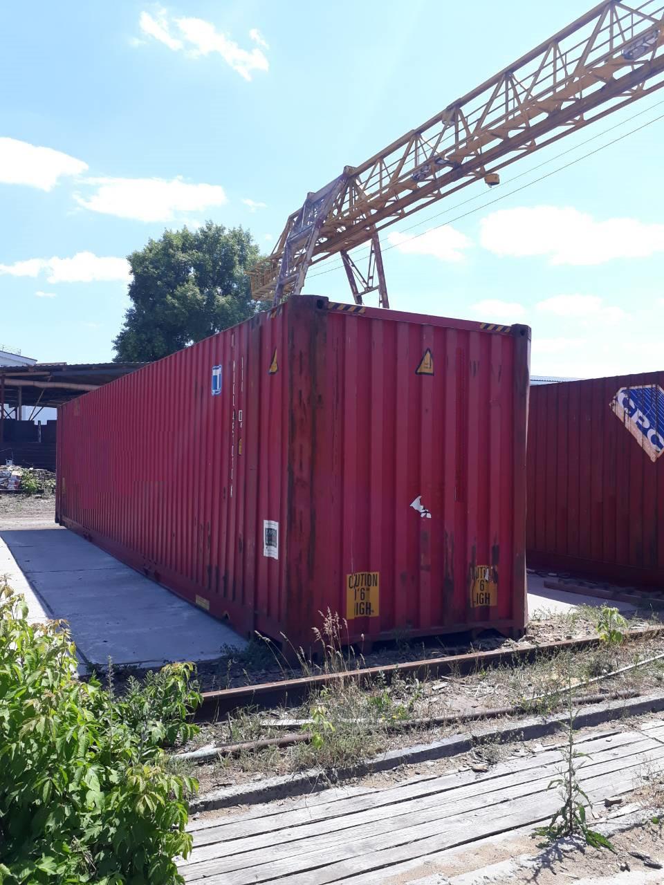 45-футовый морской контейнер - фото 5