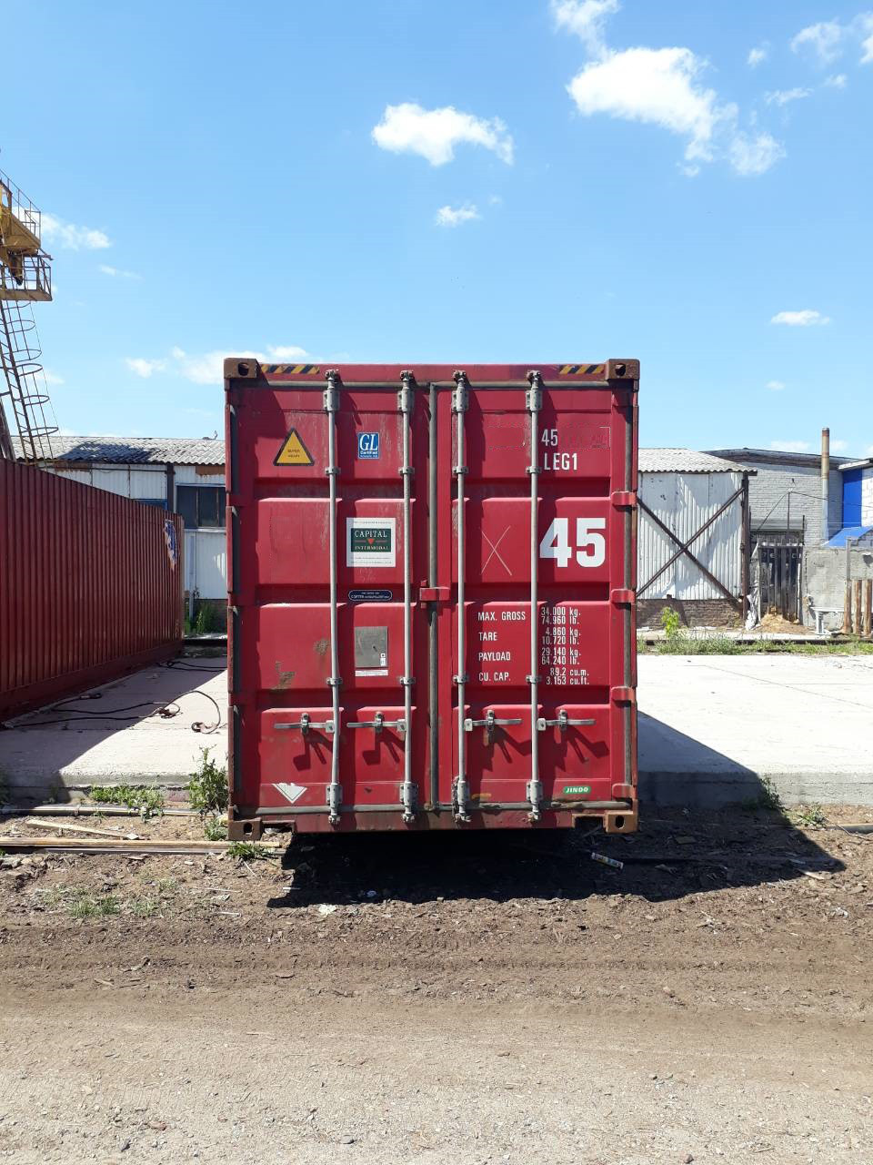 45-футовый морской контейнер - фото 3