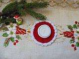 Подсвечник новогодний ручной работы Праздник, фото 4