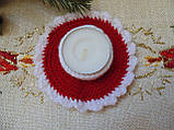 Подсвечник новогодний ручной работы Праздник, фото 5