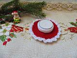 Подсвечник новогодний ручной работы Праздник, фото 6