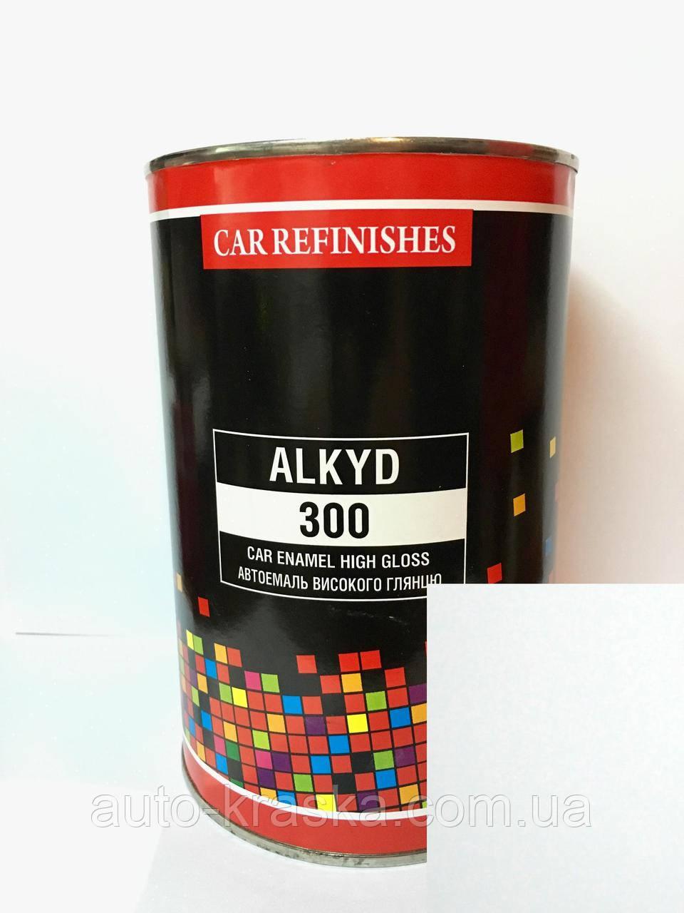 Автоэмаль алкидная 1л БЕЛАЯ ТОЙОТА 040 CS System Алкид - 300