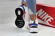 Подростковые кроссовки Nike M2K Tekno,белые c красным 39р, фото 3