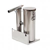 Дымогенератор из нержавейки с конденсатосборником и охладителем на 1,5 литра, фото 1