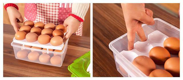 Пластиковый контейнер для хранения яиц (24 шт.)