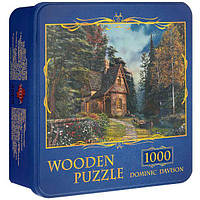 Деревянные пазлы, 1000 эл., Польша, Dominic Davison