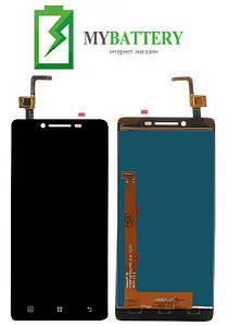 Дисплей (LCD) Lenovo A6010 с сенсором черный