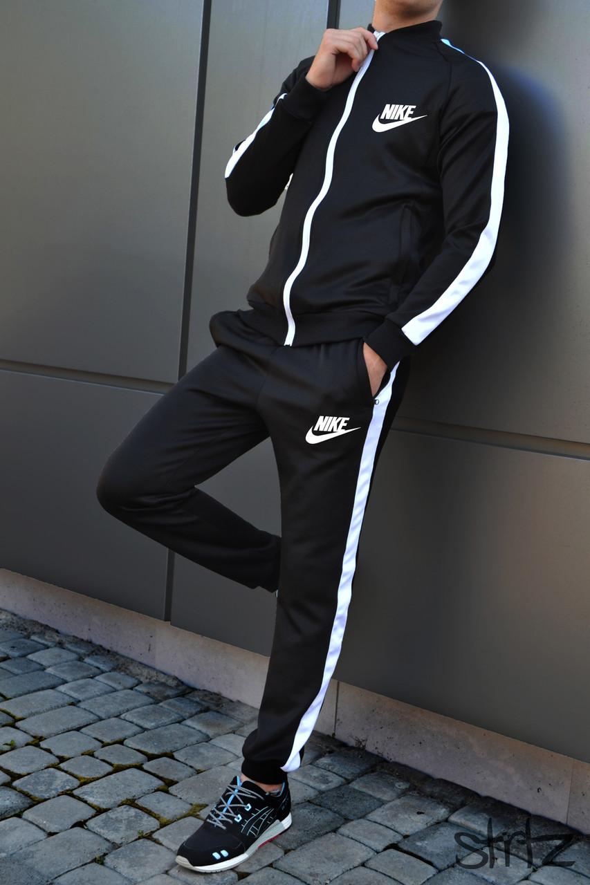 a494d855 Мужской Спортивный Костюм Nike Черный Очень Качественный Спортивний Костюм  Чоловічий - Shopmann - Магазин Одежды и