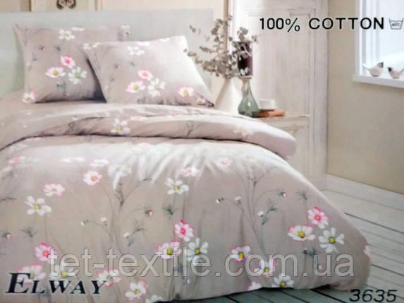 """Комплект постельного белья Elway """"Семейное"""" , фото 2"""