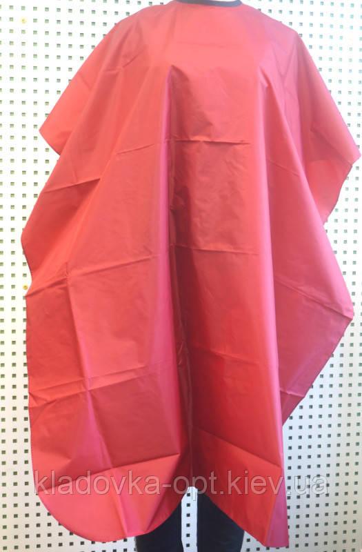 Пеньюар для стрижки обычная на завязках и липучке
