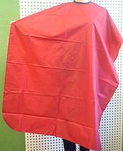 Пеньюар для стрижки обычная на завязках и липучке, фото 2