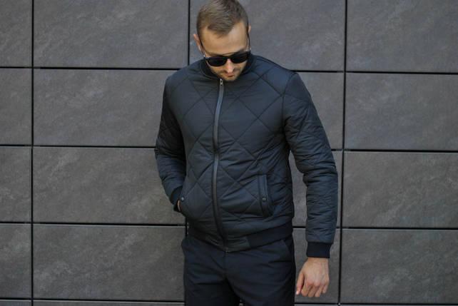 Бомбер мужской / куртка мужская стеганка, фото 2