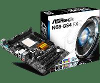 Материнська плата AsRock N68-GS4 FX